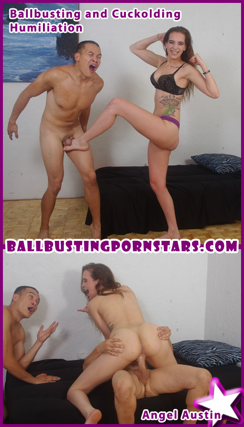 Ballbustingpornstars Heidi Mayne The Legend Of The Blowjob