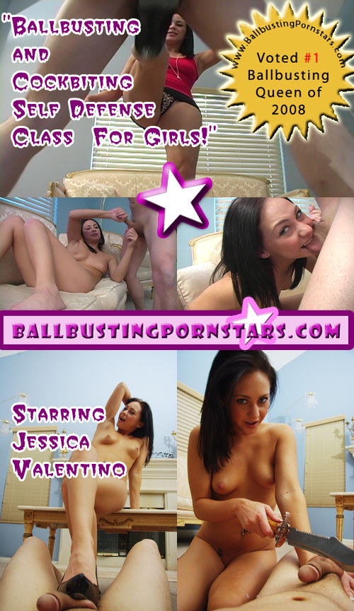Jessica Valentino the Ballbusting Queen of 2008