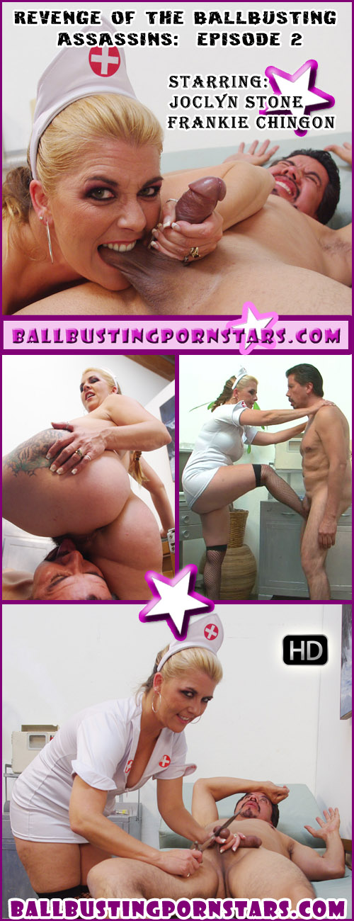 Joclyn Stone performs a castration with her latest victim