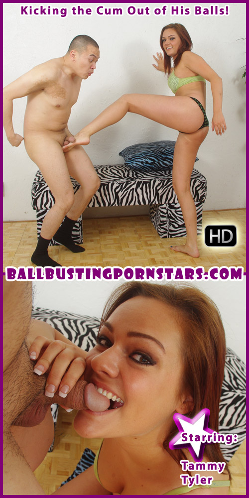 Tammy Tyler teen stripper ballbusting!