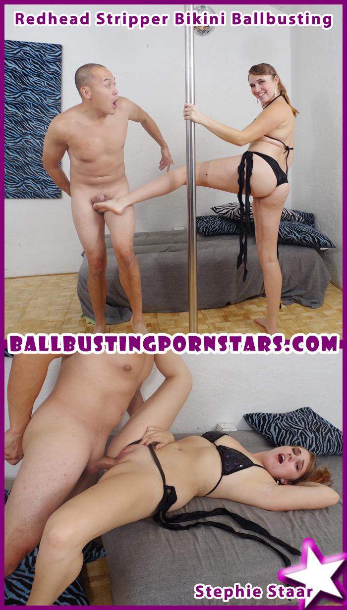 Amazing Stripper Facial Porn femdom ballbusting